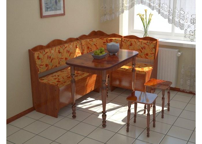 Угловой диван для кухни мария 2